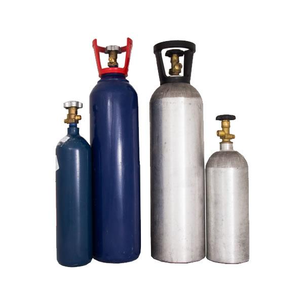 Gás para recarga de N2O (chantilly) e CO2 (água)